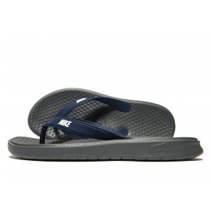 Nike Solay Flip Flops Homme Gris Chaussures de Fitness
