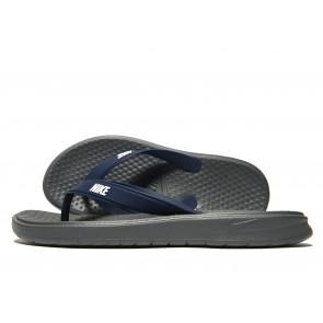 Nike Solay Flip Flops Homme Gris Chaussures de Fitness