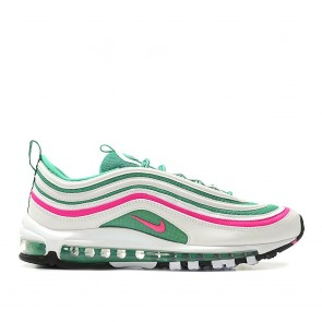 Nike Air Max 97 'South Beach' Homme Chaussure de Running 921826-102 Blanc/Vert/Rose