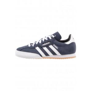 Adidas Originals Samba Auper Suede - Chaussures de Sport Basse/Faible - Bleu Marin/Blanc - Femme/Homme