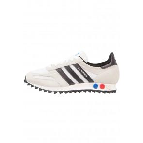 Adidas Originals LA Trainer OG - Chaussures de Sport Basse/Faible - Vintage Blanc/Blanc/Noir Noyau/Brun Clair - Femme/Homme