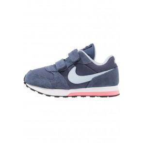 Nike Footwear MD Runner 2 - Chaussures de Sport Basse/Faible - Bleu/Bleu de L'armée/Blanc/Noir - Enfant