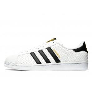 Adidas Originals Superstar Weave Homme Blanc Chaussures de Fitness