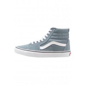 Vans SK8 - Chaussure de Running Haute/High - Bleu/Blanc Sommet - Femme/Homme
