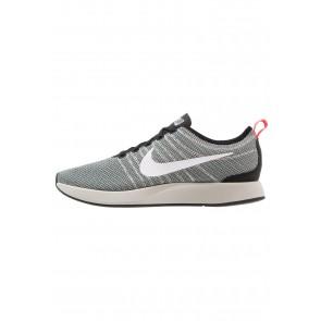 Nike Footwear Dualtone Racer - Chaussures de Sport Basse/Faible - Noir/Blanc/Gris Pâle/Rouge Solaire - Homme