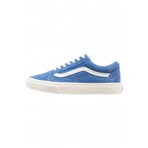 Vans Old Skool - Chaussures de Sport Basse/Faible - Bleu Brillant/Blanc - Femme/Homme