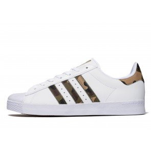 Adidas Originals Superstar Vulc Homme Blanc Chaussures de Fitness