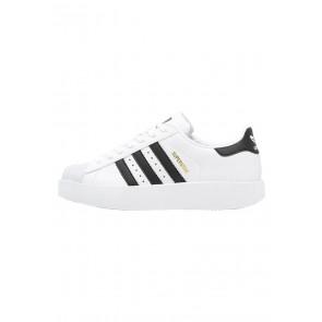Adidas Originals Superstar Bold - Chaussures de Sport Basse/Faible - Blanc/Noir Noyau/Or Métallisé - Femme