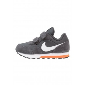 Nike Footwear MD Runner 2 - Chaussures de Sport Basse/Faible - Anthracite/Blanc/Orange Terra - Enfant