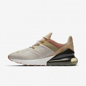 Chaussures de course AO8283-200 Nike Air Max 270 Premium pour homme Chaîne/Neutre Olive/Désert/Désert Ocre