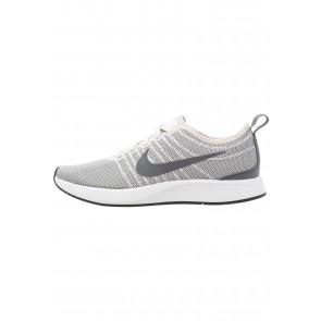 Nike Footwear Dualtone Racer - Chaussures de Sport Basse/Faible - Gris Argenté/Vert Foncé/Noir/Blanc - Femme