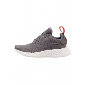 Adidas Originals NMD_R2 - Chaussures de Sport Basse/Faible - Anthracite - Femme/Homme