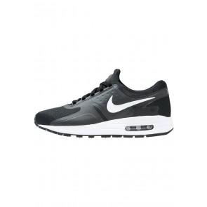 Nike Footwear Air Max Essential - Chaussures de Sport Basse/Faible - Noir/Blanc/Vert Foncé - Femme