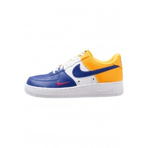 Nike Footwear Air Force 1 LV8 - Chaussures de Sport Basse/Faible - Bleu Foncé/Or/Rouge/Blanc - Homme