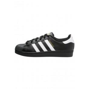 Adidas Originals Superstar Foundation - Chaussures de Sport Basse/Faible - Noir/Blanc - Femme/Homme
