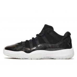 Jordan 11 Retro Low 'Baron' Homme Noir Chaussures de Fitness