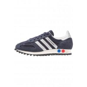 Adidas Originals LA Trainer OG - Chaussures de Sport Basse/Faible - Rose Légende/Argent Mat/Marin de Nuit/Bleu - Femme/Homme