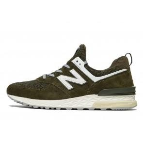 New Balance 574 Sport Homme Vert Chaussures de Fitness