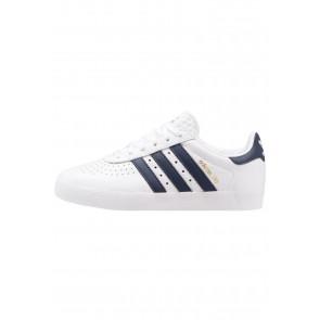 Adidas Originals 350 - Chaussures de Sport Basse/Faible - Blanc/Armée Collégiale/Bleu Marin/Or Métallisé - Femme/Homme