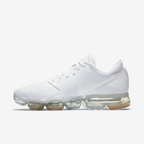 Homme Nike Air VaporMax Plus Chaussures de Fitness Blanc/Métallique Argent/Pur Platine/Blanc AH9046-101