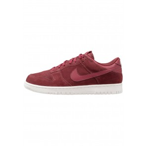 Nike Footwear Dunk Low - Chaussures de Sport Basse/Faible - Rouge Équipe/Blanc Summit - Homme